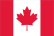 Canada flag for home page access